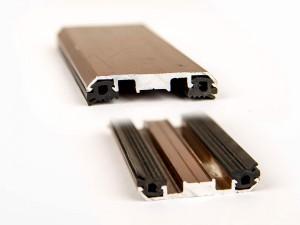 Планка прижимная алюминиевая 45332